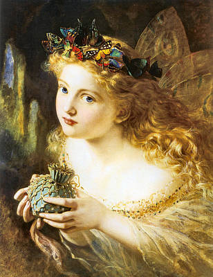 Digital Art - Take The Fair Face Of Woman by Sophie Anderson