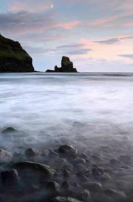 Photograph - Talisker Bay Scotland by Grant Glendinning