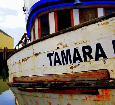 Tamara Art Print by Mamie Gunning