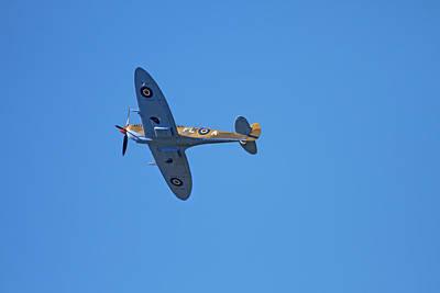 Xvi Photograph - Tandem Supermarine Spitfire Trainer  - by David Wall
