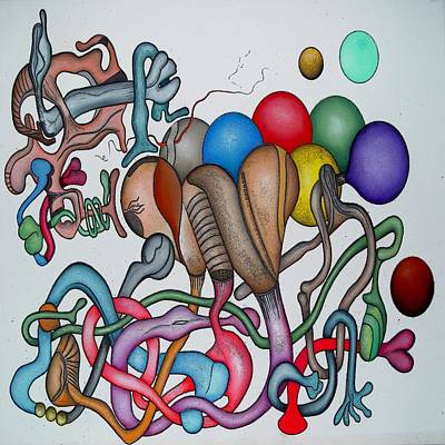 #1 Tangled Series Art Print