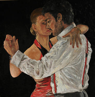 Painting - Tango The Dance Of Love by Terry Sita