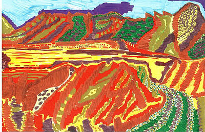 Taos Valley Art Print by Don Koester