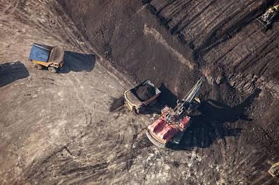 Destruction Photograph - Tar Sands Deposit Mine by Ashley Cooper
