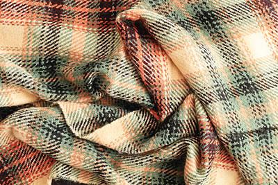 Venice Beach Bungalow - Tartan scarf by Tom Gowanlock