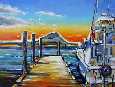 Painting - Tauranga Marina 180412 by Selena Boron