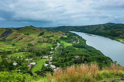 Outlook Photograph - Tavuni Hill Fort Overlooking by Michael Runkel