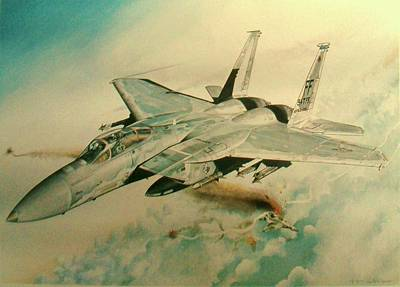 Rickenbacker Painting - Next by Paul Jones