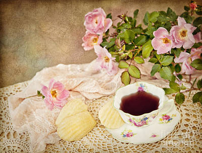 Photograph - Tea And Cookies by Cheryl Davis