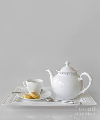 On Set Photograph - Tea And Cookies by Diane Diederich