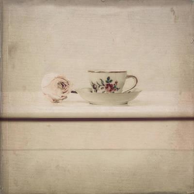 Tableware Photograph - Tea Cup by Joana Kruse
