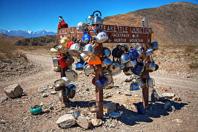 Teakettle Photograph - Teakettle Junction New Sign by James Marvin Phelps