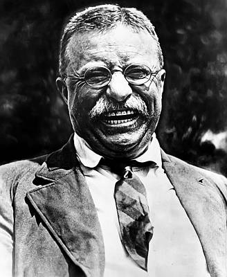 President Photograph - Teddy Roosevelt by Bill Cannon