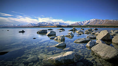Photograph - Tekapo by Brad Grove