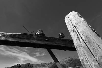 Grimm Fairy Tales - Telephone Pole Oatman AZ by Dan Hartford