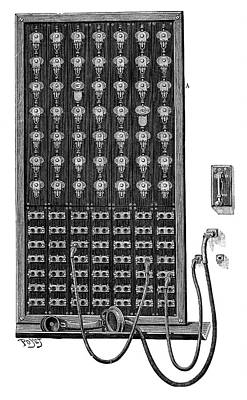 French Wires Photograph - Telephone Switchboard by Science Photo Library