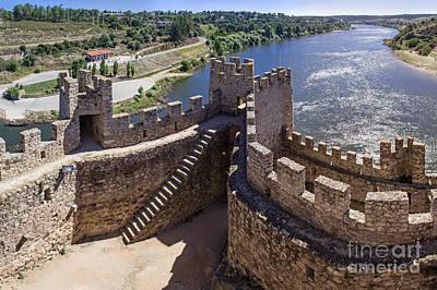 Knights Castle Photograph - Templar Castle Of Almourol by Jose Elias - Sofia Pereira