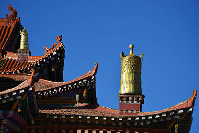 Photograph - Temple In Tibet by Yue Wang