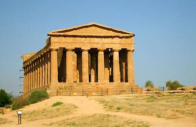 Photograph - Temple Of Concordia II by Caroline Stella