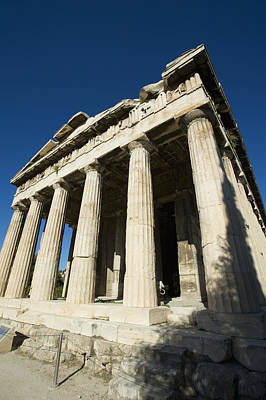 Hephaestus Wall Art - Photograph - Temple Of Hephaestus In Ancient Agora by Daniel Alexander