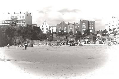 Tenby Photograph - Tenby Beach by Jeremy Hayden