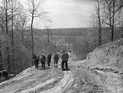 Tennessee Roads, 1936 Art Print by Granger