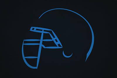 Titans Photograph - Tennessee Titans Helmet by Joe Hamilton