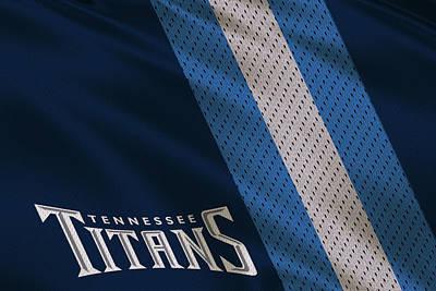 Tennessee Photograph - Tennessee Titans Uniform by Joe Hamilton