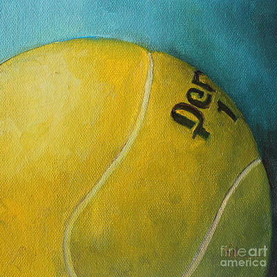 Tennis Ball Original by Kristine Kainer