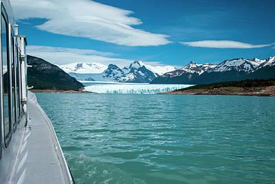 Terminal Photograph - Terminal Face Of The Perito Moreno by James White