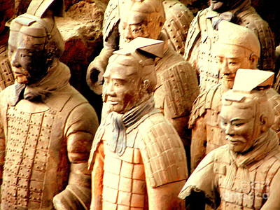 Photograph - Terra Cotta Warriors by John Potts