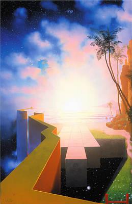 Pleiades Painting - Terra Incognita - Unknown Territory by Loren Adams