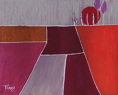 Terre De Feu - 2007 Art Print by Mirko Gallery