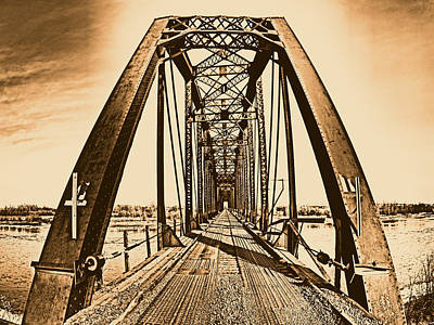 Photograph - Terry Bridge by Leland D Howard