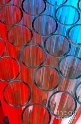 Photograph - Test Tubes by Charlotte Raymond