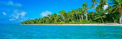 Atoll Photograph - Tetiaroa Atoll French Polynesia Tahiti by Panoramic Images