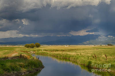 Teton Valley  Art Print by Idaho Scenic Images Linda Lantzy