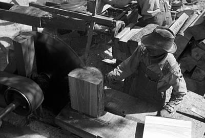 Texas Saw Mill, 1939 Art Print