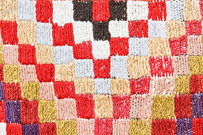 Woollen Photograph - Textile Background by Tom Gowanlock