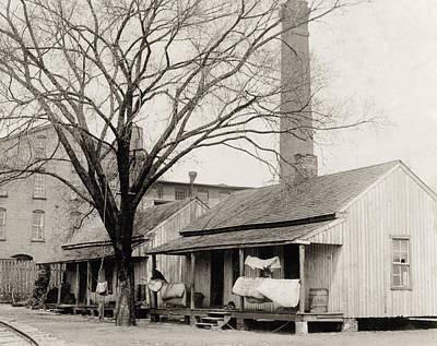 Photograph - Textile Worker Housing by Granger