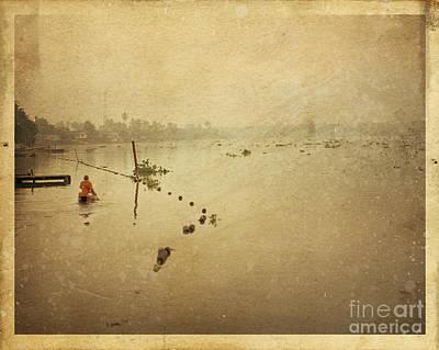 Buddhism Photograph - Thai River Life by Setsiri Silapasuwanchai