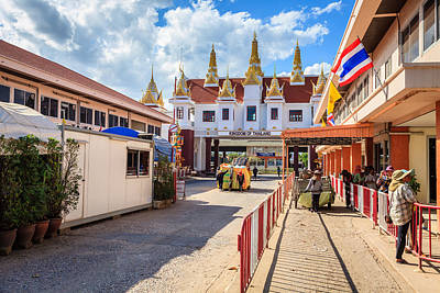 Photograph - Thailand-cambodia Border by Alexey Stiop