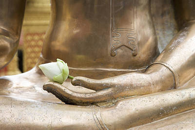 Phrathat Photograph - Thailand, Chiang Mai, Buddhist Temple by Tips Images
