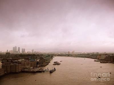 Photograph - Thames by Anita Kovacevic