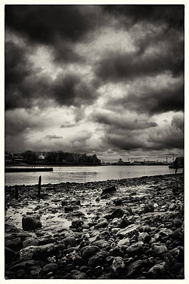 Photograph - Thames Foreshore - Greenwich by Lenny Carter