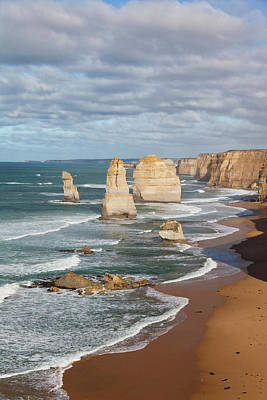 Miocene Photograph - The 12 Apostles, Great Ocean Road by Martin Zwick