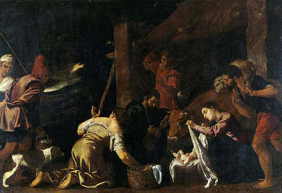 The Adoration Of The Shepherds Art Print by Pedro Orrente