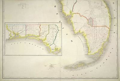 The American Atlas Art Print by British Library