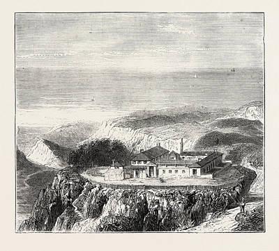 Ghana Drawing - The Ashantee War Ascension Island, The Sanatorium by African School