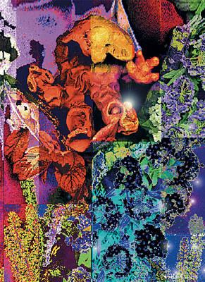 The Castro Digital Art - the Awakening of Consciousness by Nuria  Castro